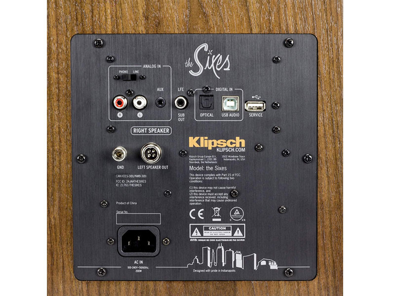 Loa Klipsch The Sixes tai hdradio 3