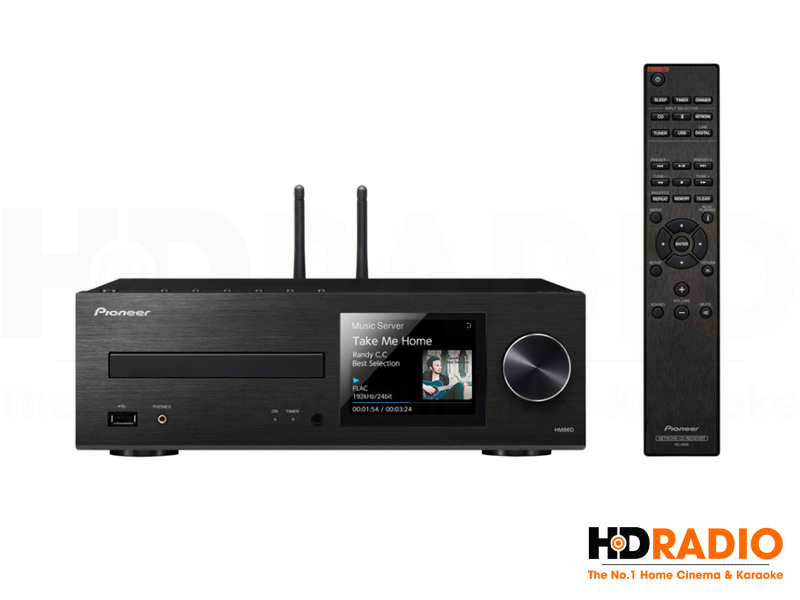 Amply + CD Pioneer XC-HM86D