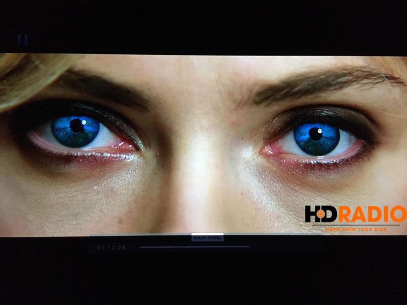 View cận cảnh ảnh chụptừ Máy chiếu 4K JVC DLA-X500R