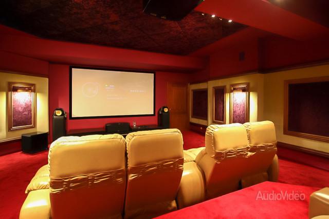 Mẫu phòng chiếu phim gia đình cao cấp - hình 1