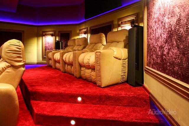 Mẫu phòng chiếu phim gia đình cao cấp - hình 5