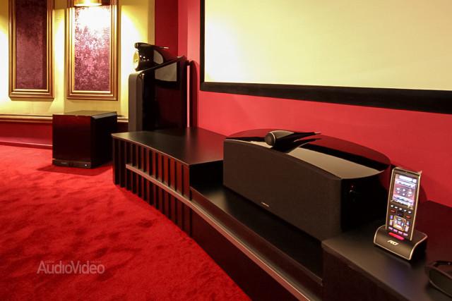 Mẫu phòng chiếu phim gia đình cao cấp - hình 6