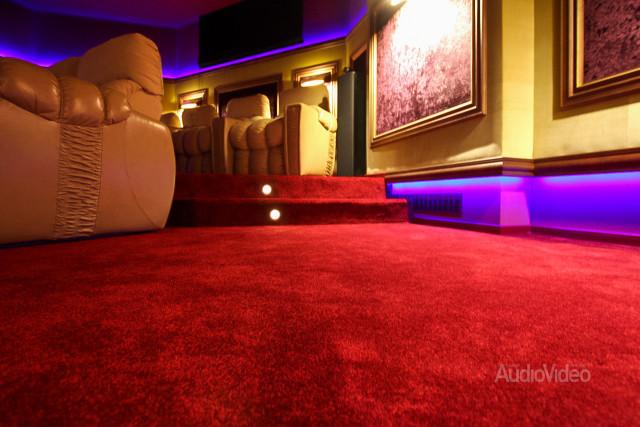 Mẫu phòng chiếu phim gia đình cao cấp - hình 9