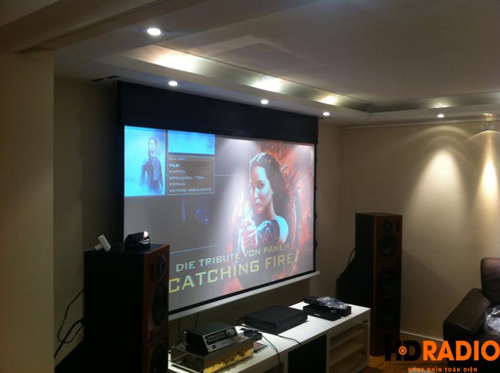 Lắp đặt phòng chiếu phim gia đình A Sơn Thái Bình - Hình 4