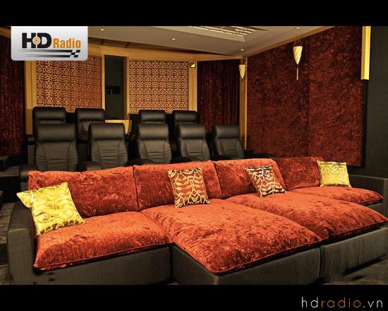 Lắp đặt và thiết Phòng chiếu phim 3D gia đình sang trọng