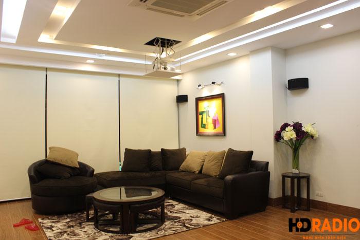 Biến phòng khách thành phòng giải trí đa năng gia đình A Đức Hưng yên - Hình