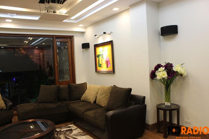Biến phòng khách thành phòng giải trí đa năng gia đình A Đức Hưng yên - Hình 10