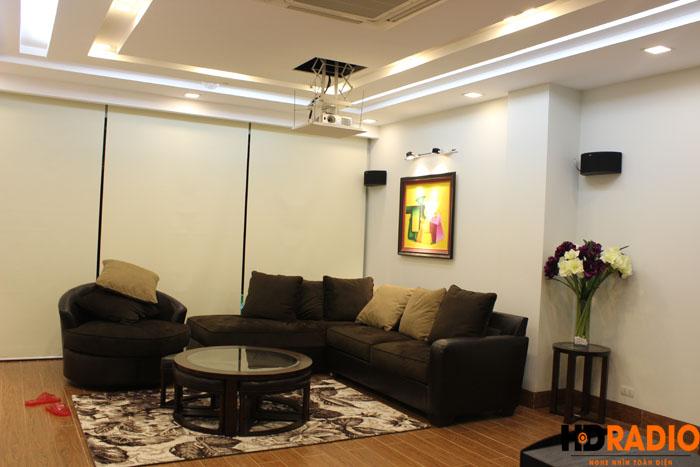 Biến phòng khách thành phòng giải trí đa năng gia đình A Đức Hưng yên - Hình 16