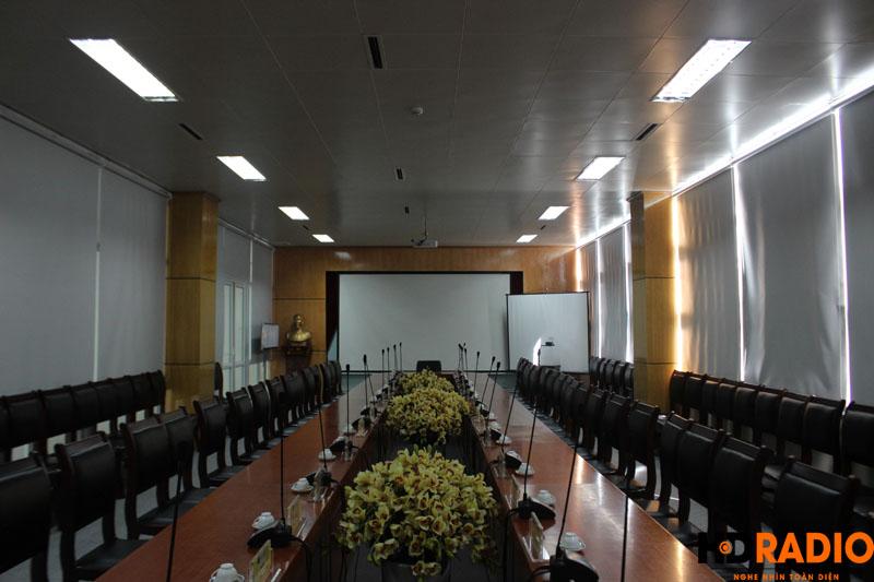 Lắp đặt phòng họp bệnh viên K Hà Nội - hình 1
