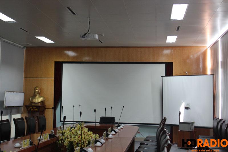 Lắp đặt phòng họp bệnh viên K Hà Nội - hình 3