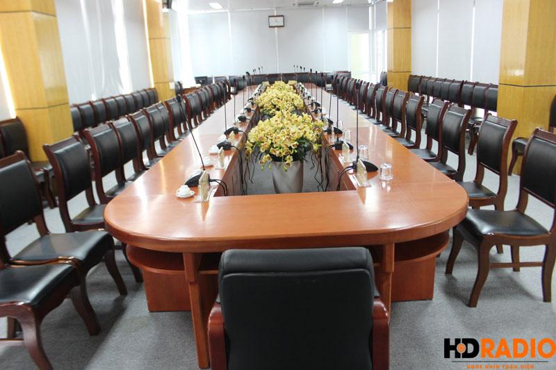 Lắp đặt phòng họp bệnh viên K Hà Nội - hình 4