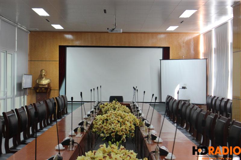 Lắp đặt phòng họp bệnh viên K Hà Nội - hình 10