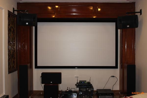 Lắp đặt phòng phim gia đình - A Nam Linh Đàm - Hình 9