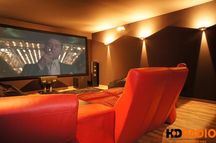 Lắp đặt phòng chiếu phim gia đình A Tuấn Anh - TP Vinh, Nghệ An - Hình 10