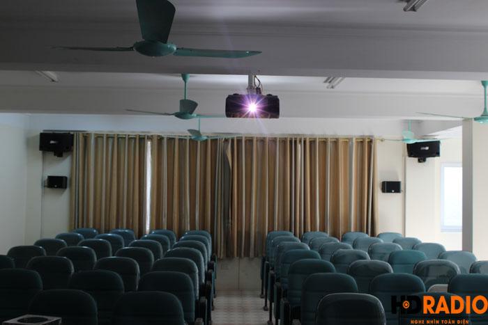 Phòng chiếu phim kết hợp làm hội trường công ty - Hình 7