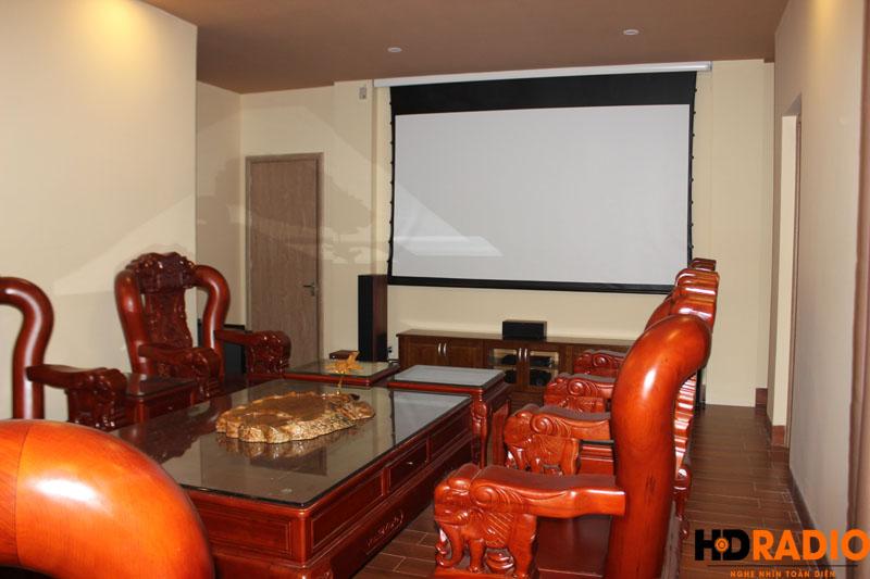 Lắp đặt phòng chiếu phim gia đình A Bích Thái Bình - Hình 6