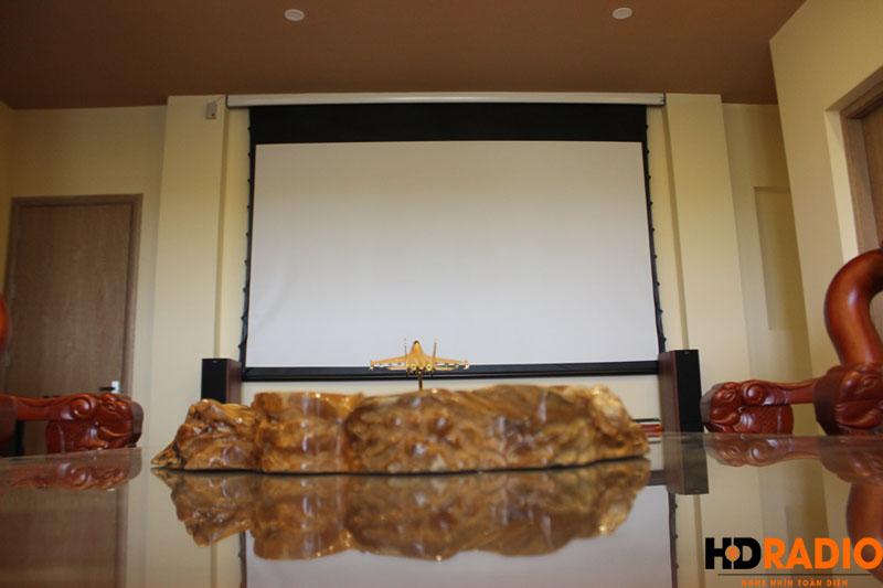 Lắp đặt phòng chiếu phim gia đình A Bích Thái Bình - Hình 10