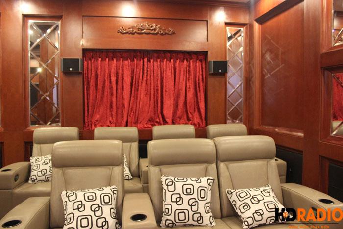 Lắp đặt phòng chiếu phim gia đình phố cổ hà nội - Hình 8