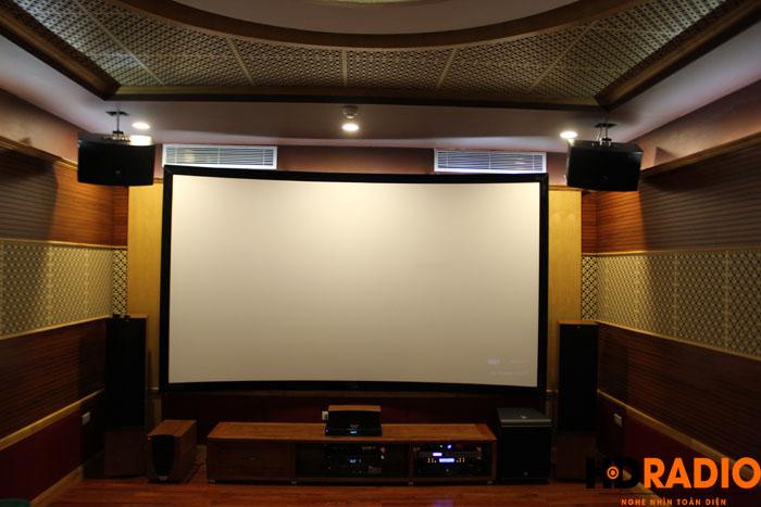 Lắp đặt phòng phim A Trường Biệt thự trung yên - Hình 1