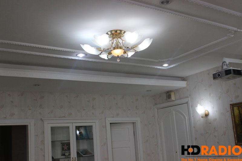 Hệ thống đèn chụp TUYỆT ĐẸP nhà khách hàng.