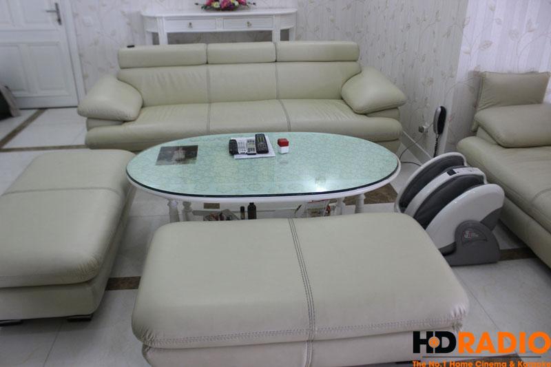 Hệ thống ghế sofa để tiếp khách và xem phim