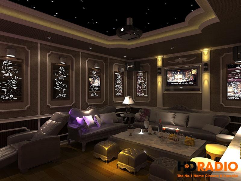 Thiết kế phòng chiếu phim gia đình - Hình  3