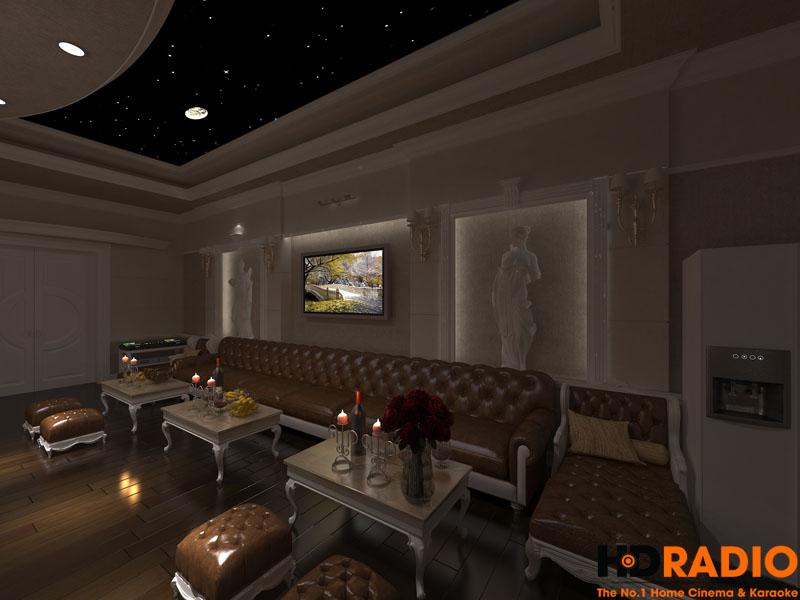 Mẫu phòng chiếu phim gia đình cao cấp - hình 13