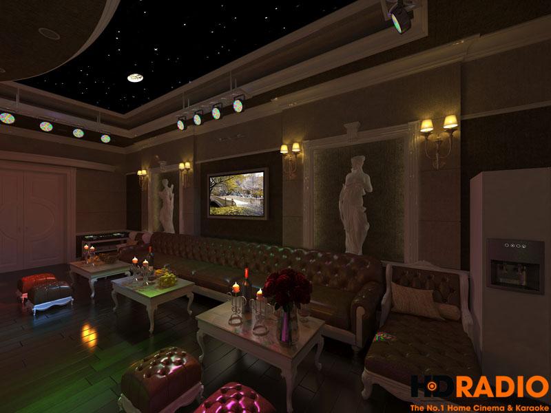 Mẫu phòng chiếu phim gia đình cao cấp - hình 16