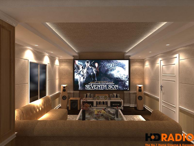 Thiết kế phòng chiếu phim gia đình chuyên nghiệp - hình 1