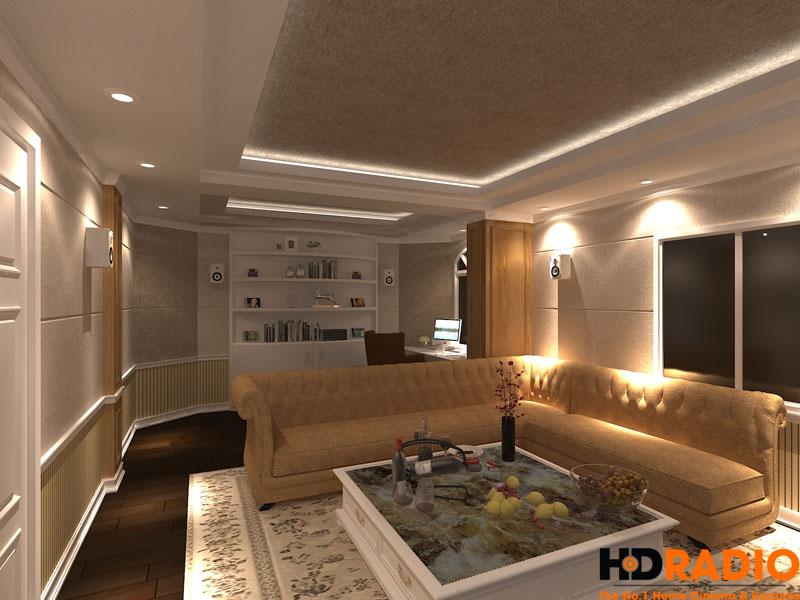 Thiết kế phòng chiếu phim gia đình chuyên nghiệp - hình 2