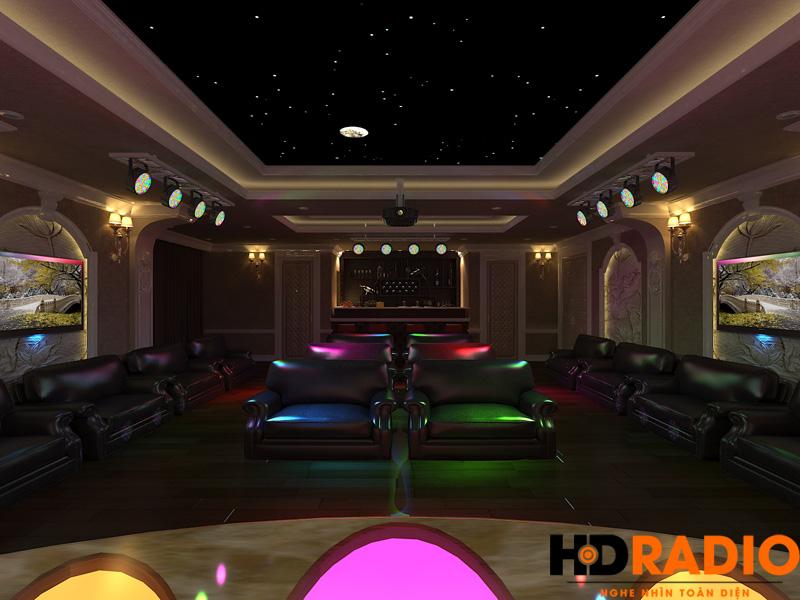Thiết kế phòng chiếu phim gia đình chuyên nghiệp - hình 4