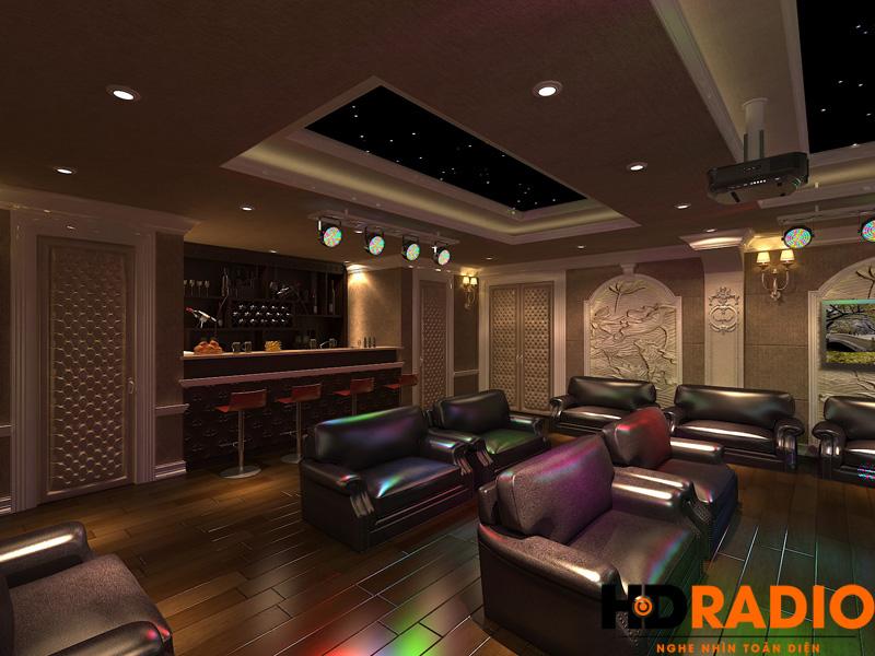 Thiết kế phòng chiếu phim gia đình chuyên nghiệp - hình 5