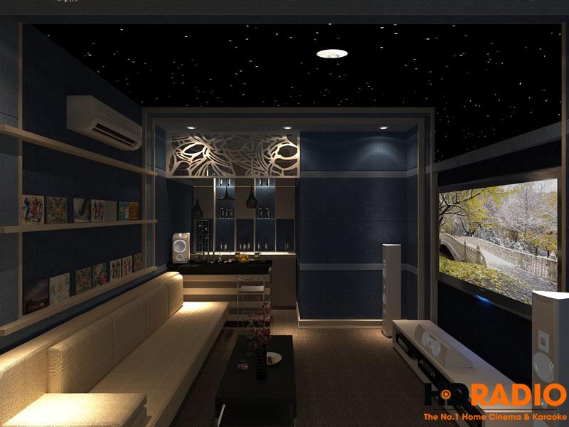 Thiết kế phòng chiếu phim gia đình cơ bản - Hình 8
