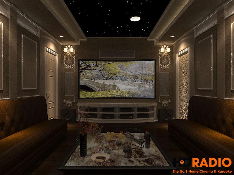 Thiết kế phòng chiếu phim đa năng - hình 1