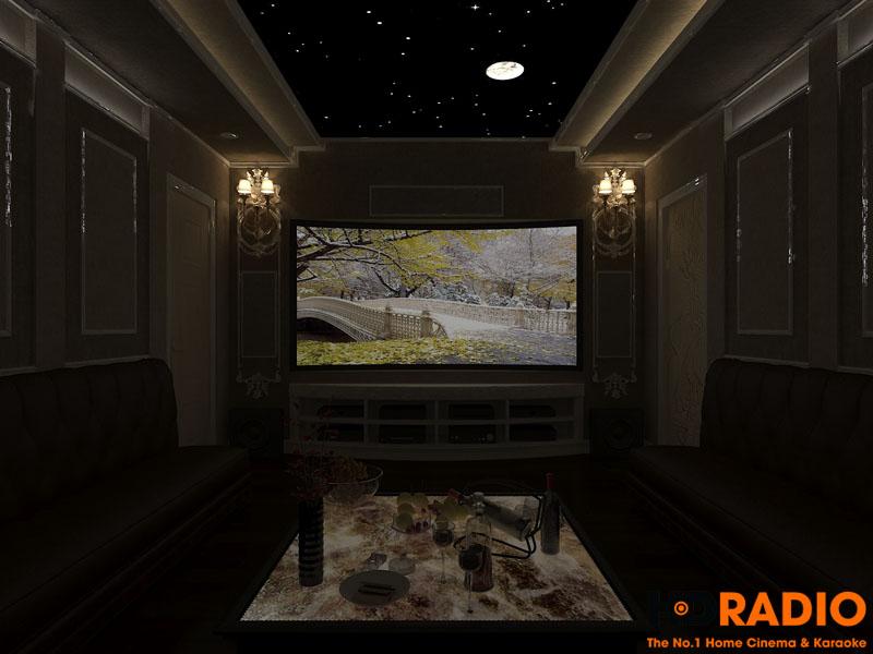 Thiết kế phòng chiếu phim đa năng - hình 2