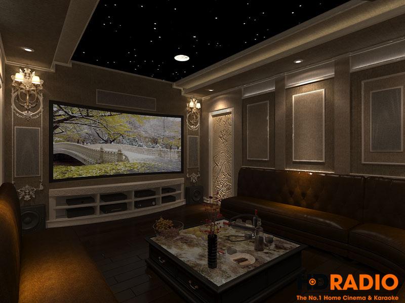 Thiết kế phòng chiếu phim đa năng - hình 3