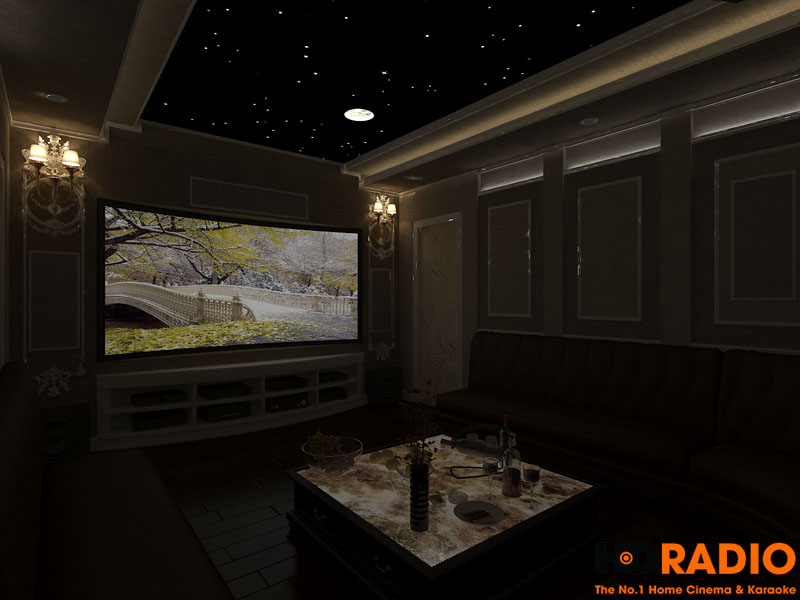 Thiết kế phòng chiếu phim đa năng - hình 4