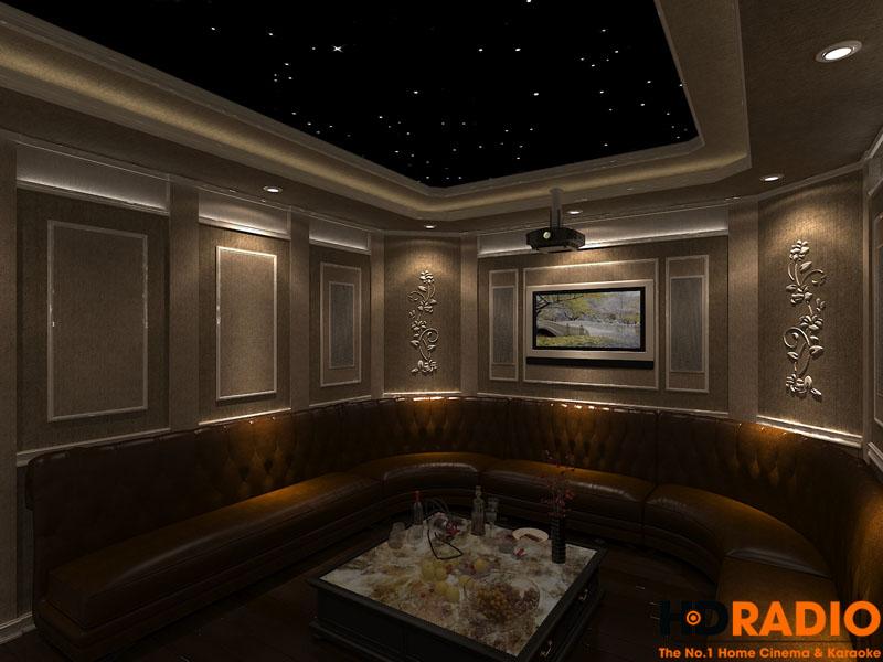 Thiết kế phòng chiếu phim đa năng - hình 7