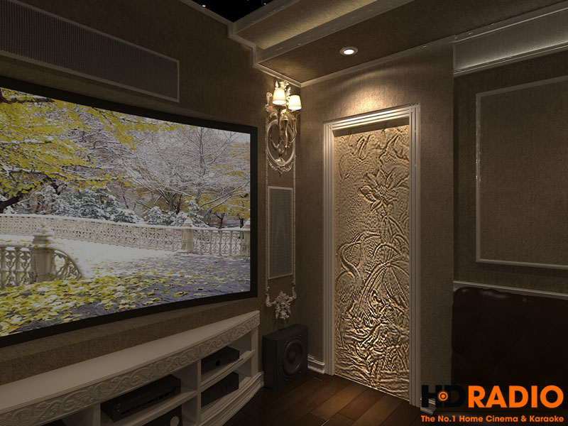 Thiết kế phòng chiếu phim đa năng - hình 9