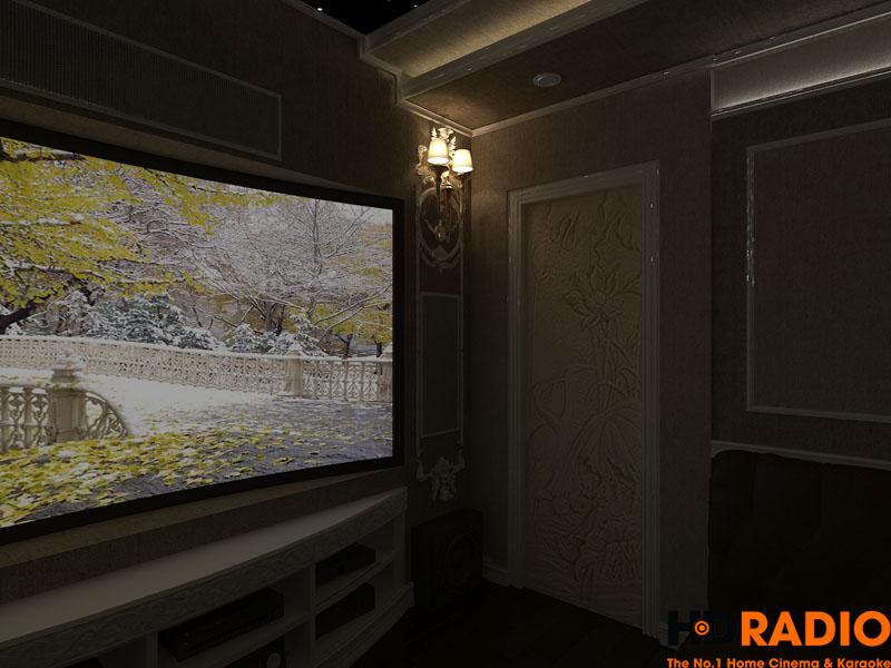 Thiết kế phòng chiếu phim đa năng - hình 10