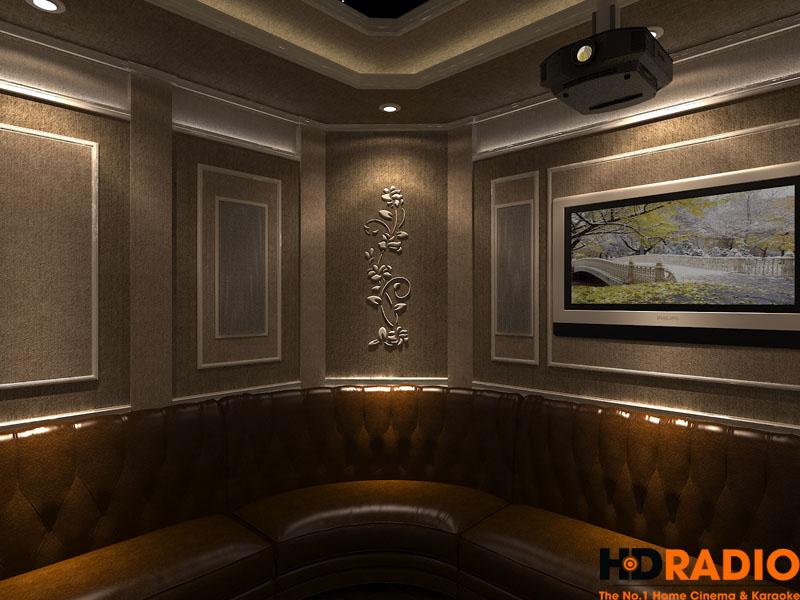 Thiết kế phòng chiếu phim đa năng - hình 11