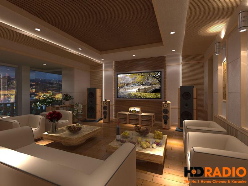 Mẫu thiết kế phòng chiếu phim gia đình cao cấp - hình 1