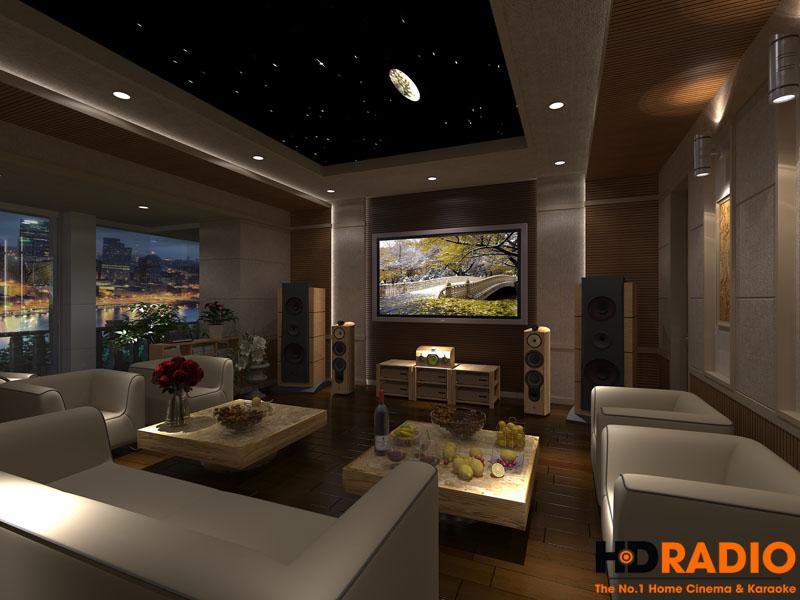 Mẫu thiết kế phòng chiếu phim gia đình cao cấp - hình 4