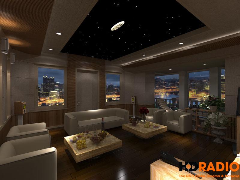 Mẫu thiết kế phòng chiếu phim gia đình cao cấp - hình 8