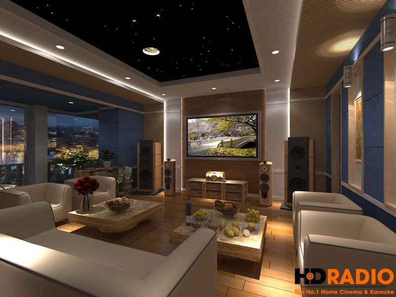 Mẫu thiết kế phòng chiếu phim gia đình cao cấp - hình 10