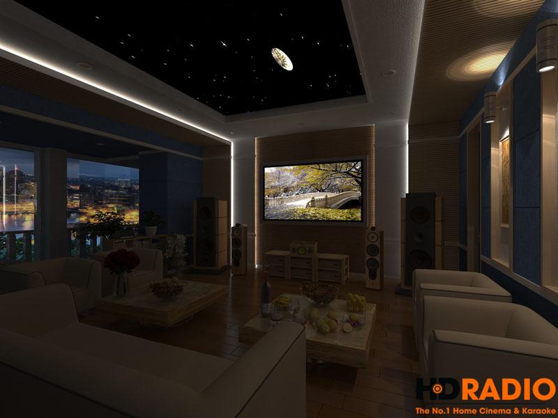 Mẫu thiết kế phòng chiếu phim gia đình cao cấp - hình 11