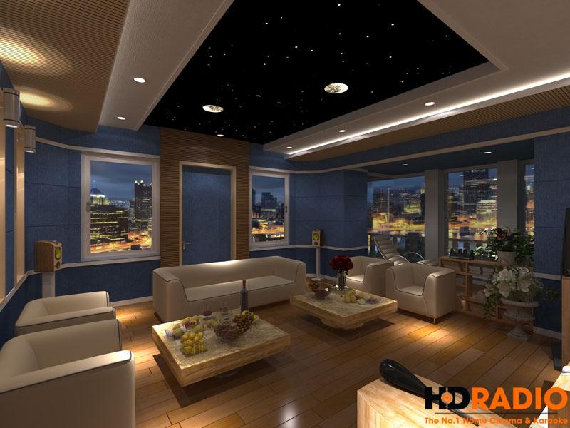 Mẫu thiết kế phòng chiếu phim gia đình cao cấp - hình 14