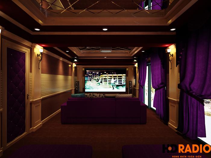 Thiết kế phòng chiếu phim gia đình chuyên nghiệp tại hải phòng