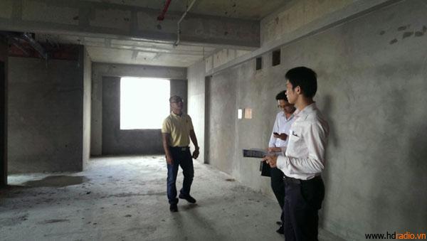 Khảo sát khu vực thiết kế phòng chiếu phim 3d kinh doanh