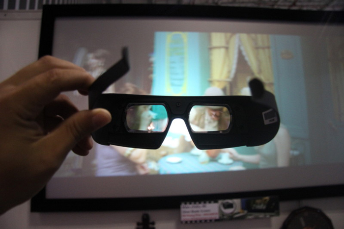 kính 3D quang phố